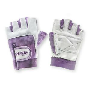 Womens Purple Grizzly Paw Gloves, XS