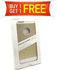 Moshi iGlaze Armour Metallic Gold Back Case iPhone 6s/6 Plus BUY 1 GET 1 FREE