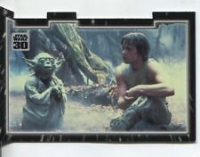 Star Wars 30th Anniversary Triptych Chase Card #3 Master And Apprentice