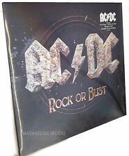 AC/DC LP + CD Rock Or Bust 180 Gram Heavyweight Vinyl LENTICULAR Sleeve SEALED