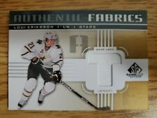 2011-12 SP Game Used Authentic Fabrics Gold #AFLE4 Loui Eriksson T C