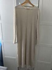 Topshop Maternity Dress Size 14 Beige