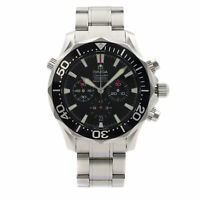Omega Seamaster America's Cup Steel Black Dial Automatic Mens Watch 2594.50.00