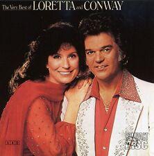 Loretta Lynn - Very Best of Loretta & Conway [New CD]