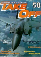 TAKE OFF 58 WW2 B-29_AEW ACFT_USN VF-24 CRUSADER CV-19_ROLLS-ROYCE ENGINE DESIGN