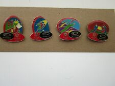 Salt Lake City 2002 Olympic Sponsor Pin set - 4 pins from Achieve Global