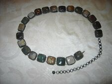 Vintage belt made in India of semi-precious stones in Southwestern motive
