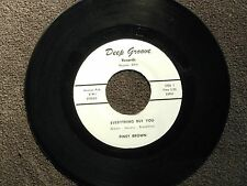 northern soul PINEY BROWN Eveything But You DEEP GROOVE M- listen!!