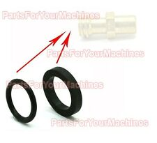 O-RING SET FOR MALE COUPLER, PROPANE CYLINDERS, FORKLIFTS, LPG BUFFERS, NEW!