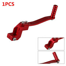 1X Aluminum Motorcycle ATV Pit Dirt Bike Foldable Red Gear Shift Lever Universal(Fits: 1986 KX250)