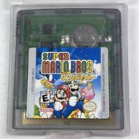 Super Mario Brothers Deluxe NINTENDO GAMEBOY COLOR