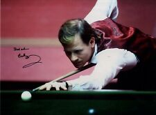 Alex 'Hurricane' Higgins - Legendary Snooker Player  In Person Signed Photograph