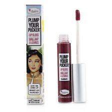 Plump Your Pucker Lip Gloss TheBalm Cosmetics Extravagant Purple Authentic Balm