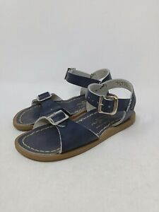 Saltwater Toddler Brown Sandals Size 8 US