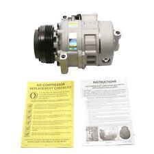For BMW E46 E39 E83 3 and 5 M3 X3 Series A/C Compressor Delphi CS20082