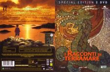 DVD I racconti di terramare ed. cartonata rara in 2 dvd Goro Miyazaki