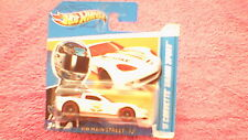 Hot Wheels-Reino Unido Tarjeta'11 Corvette Grand Sport - #162 - Blanco metálico