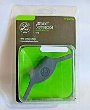 Littmann New Stethoscope Identification Id Tag 40008 Gray Free Shipping
