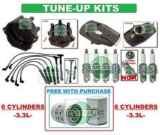 TUNE UP KITS 96-04 QX4 FRONTIER PATHFINDER Xterra: SPARK PLUG FILTER CAP & ROTOR