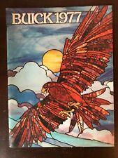 Vintage 1977 Buick 74-page Sales Catalog - LeSabre Riviera Regal Turbo Electra