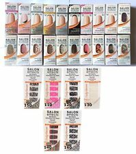 40 Pc Wholesale Lot ~Sally Hansen Salon Effects Real Nail Polish Strips Mixed!