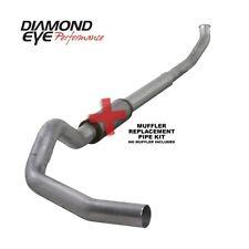 "Diamond Eye K5222A-RP 5"" Turbo-Back Exhaust, Single, Alum, For 03-04.5 Dodge 5.9"