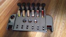 COSMO BLACK Ibanez 6 Str Edge ZERO II BASE PLATE w/ Spring Plt& Fine Tune Bolts