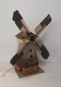 Vintage Faller HO 00 Composition Stucco Putz Windmill 233 Motor Doesn't Work