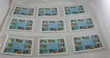 Lot of 9 Guyana 20th Century Sports Stamps International Collectors Society