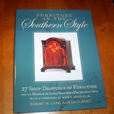 FURNITURE IN THE SOUTHERN STYLE Early American South Designs Woodworking Book
