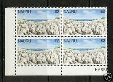 Nauru 1978-79   Scott # 180 Mint Never Hinged Corner Block