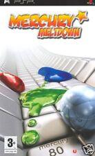 Videogame Mercury Meltdown PSP