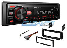 NEW PIONEER BLUETOOTH CAR STEREO RADIO W/ INSTALL KIT & DIGITAL MEDIA PLAYER