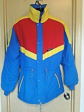 Sun Ice Ultrex Blue Color Block Winter Jacket Mens M-L Vtg Supplier Calgary '88