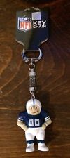 """NFL Lil"""" Brat Football Player 2"""" Keychain - Indianapolis Colts"""