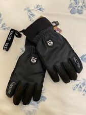 NEW Hestra Army Leather Wool Terry Gloves Size 10 Unisex