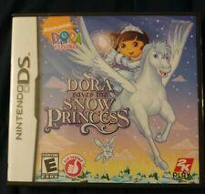 Dora the Explorer Saves the Snow Princess (Nintendo DS) Lite Dsi xl 2ds 3ds xl