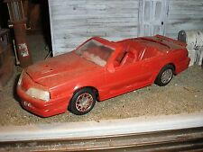 1/24 Custom Convertibe 1980's Ford T-Bird Turbo Coupe for junkyard diorama parts