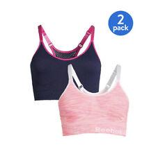 Reebok Women's Size Medium 2-Pack Seamless Medium Impact Sports Bras