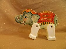 Vintage Fisher Price JUNIOR CIRCUS 902 Figure wood/plastic replacement ELEPHANT