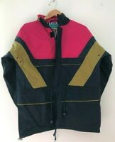 Womens Coat M 12 Great Atlantis Navy Pink * <JJ7395