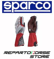 Guanti SPARCO Motion Kg-5 colore Rosso Taglia 10 - Guanto Kart professionale