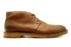 Cole Haan Brown Leather Casual Lace Up Chukka Ankle Boots Shoes Men's 9.5 M