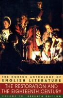 Norton Anthology of English Literature Vol. 1 : The Restoration and the Eighteen