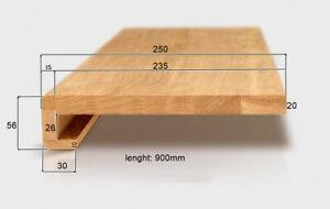 13 oak stair treads - system4 - first class eu oak, oiled