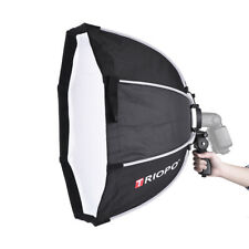 Professional 65cm 8-Pole Octagon Softbox+ Handle For Dslr Godox Flash Light+Bag