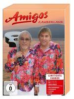 AMIGOS - ZAUBERLAND-LIMITIERTE FANBOX   CD+DVD NEU