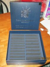 1999-2016 CLAD proof set-BLUE,STORAGE BOX-NEW-holds 18 sets