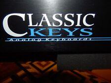 Emu E-Mu Ensoniq Classic Keys works 100% Very Clean! w/proper power adapter!