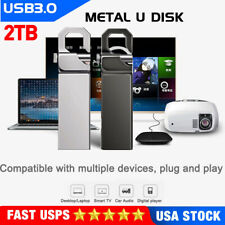 USB 3.0 Flash Drive 2TB Metal Pendrive High Speed USB Stick Pen Drive For PC NEW